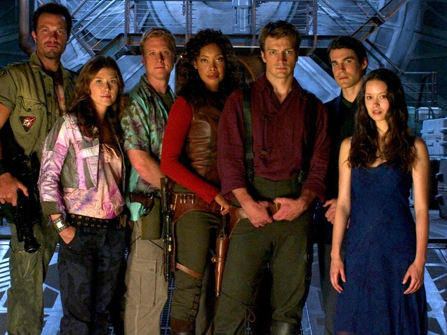 Cast and crew of Joss Whedon's Firefly