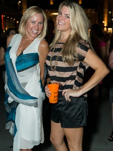 019_Fashion's Night Out, September 2012, Nancy Mathe, Cari Shoemate