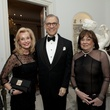 Pat Breen, from left, Gary Tinterow and Rose Cullen at the Rienzi Society dinner January 2014