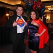 "Orlando and Cindy Castaneda at Crossroads School's ""Superhero Soiree"" Gala February 2015"
