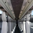 Starline bus service to football games bus interior 1 September 2013