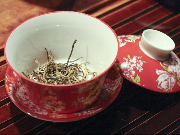 Slow Food Chinese New Year tea teacup