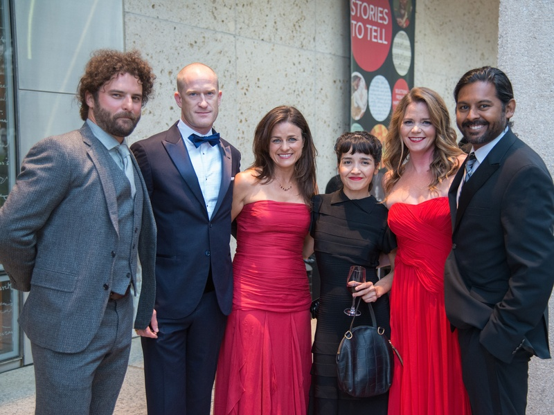 Ransom Center World of Wonders Gala 2017 Luke Borders Justin Halloran Samantha Halloran Amanda Rivera Taylor Bose Shawn Bose