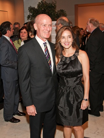 Medical Bridges gala, October 2012, Dr. Mark Kline, Nancy Calles