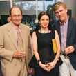 Jeff Fort, from left, Molly Kemp and Paul Nugent at the Charles James exhibit preview party at the Menil June 2014