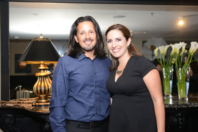 News, Shelby, Pedro Abasolo party, August 2014, Joey and Rachel Vargas
