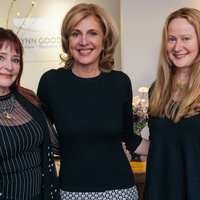 9 Kimberly Gremillion, from left, Lynn Goode and Christy Karll at the Lynn Goode Vintage opening reception March 2014