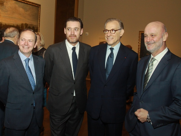 MFAH Portrait of Spain, December 2012, Cristobal Valdes, Miguel Zugaza, Gary Tinterow, Ramon Gil-Casares Satrustegui
