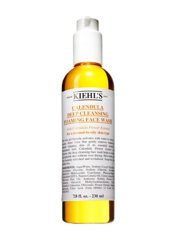 Kiehl's Calendula foaming facial wash