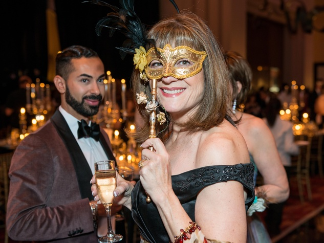 7 Ellie Francisco Masks at the Houston Ballet Ball February 2015