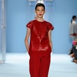 Clifford New York Fashion Week fall 2015 Carolina Herrera Top Look_09