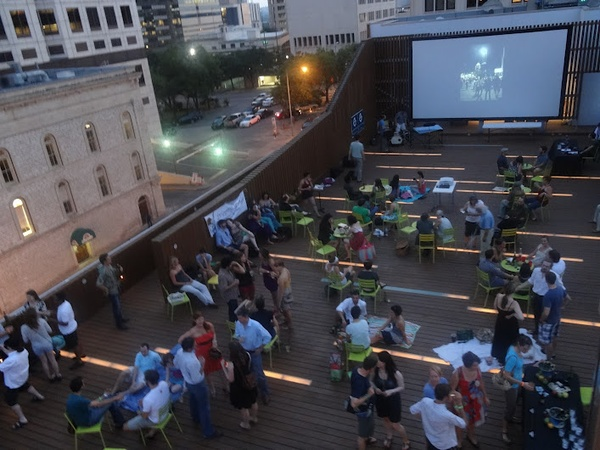 Austin Photo_News_Arthouse Rooftop Picnic_June 2012