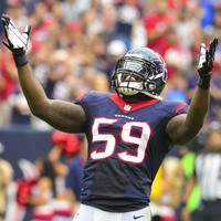 Whitney Mercilus Texans celebrate