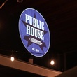 Public House Heights, bar, sign