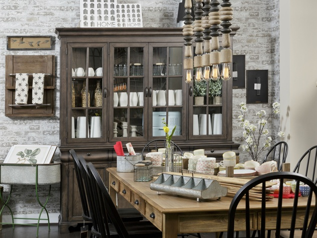 Hgtv star 39 s furniture collection brings fixer upper style for Homes collection