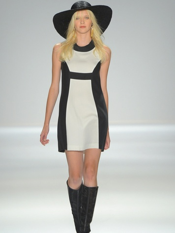 Clifford, Fashion Week spring 2013, Rachel Zoe, mod dress