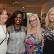 18 Mikki Donnelly, from left, Erin Jordan, Kara Moline and Jennifer Tiedt at the CultureMap Social at Gremillion and Co. Fine Art March 2015