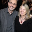 Bill Viola and Kira Pirov at the Bill Viola Aurora Picture Show Award party October 2013