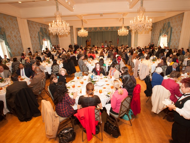 Crowd at the Interfaith Ministries luncheon January 2014