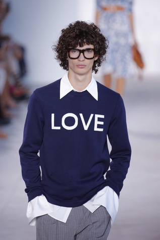 Michael Kors spring 2017 collection LOVE sweater