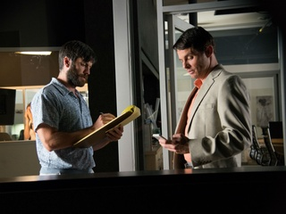 Wes Bentley and James Marsden in Welcome to Me