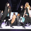 Runway walk at BCBG Max Azria show February 2014