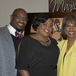 1 Danieal and La Tesha Manning, from left, with Melanie Lawson at the HMAAC Gala November 2013