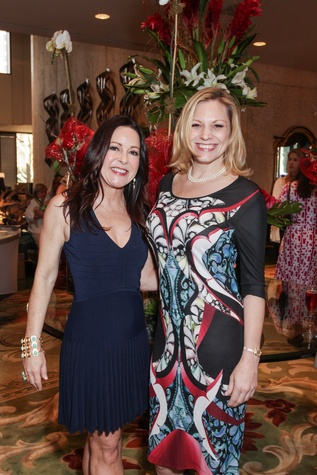 19 Jodie Eisenhardt, left, and Erin Hicks at the Best Friends Brunch benefiting aniMeals on Wheels February 2015