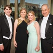 2358 Edward Heap, from left, Lindsay Canning and Nancy and Bob Peiser at the Houston Symphony Centennial Ball May 2014