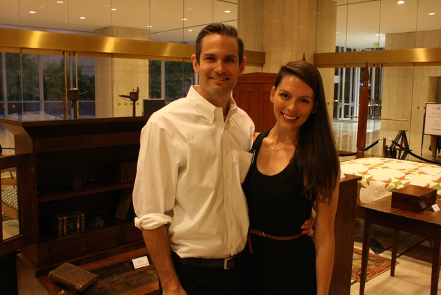 News, Shelby, The Heritage Society Young Houstonians, August 2014, Paul Morris, Shannon Reese
