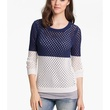 Nordstrom Caslon Colorblock Open Stitch Sweater