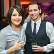 Valerie Richmond and Raymond Fuenzalida at the Young Professionals Backstage party January 2014