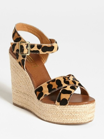 animal print wedge nordstrom