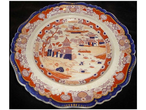 News_Bob Lanier_estate sale_May 2012_plate