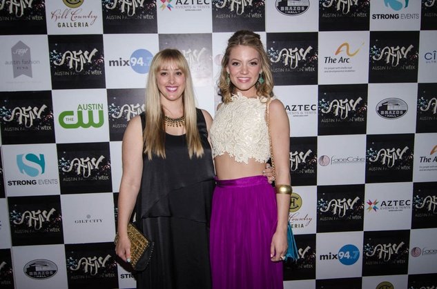 AFW Award show  Jessica Ciarla and Samantha Breeland