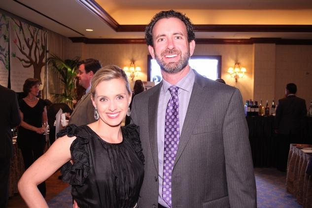 "Amanda and Mark Staudt at Crossroads School's ""Superhero Soiree"" Gala February 2015"