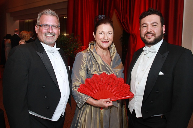41 Wes Hart, from left, Birgitt Van Wijk and Noe Quintana Houston Grand Opera Ball April 2015