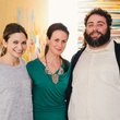 5 Emily Goetz, from left, Jessica Baldwin and Eric Sandler at CultureMap's 2014 Tastemakers Awards May 2014