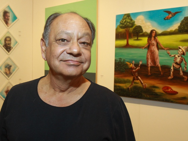 Houston Fine Arts Fair, Cheech Marin, September 2012