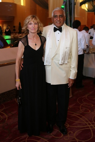 Doreen and Victor Bhatt at the Houston SPA Society for the Performing Arts Gala March 2015
