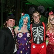 18 James Jones, from left, Rachel Walton, Connor Tammlyn and Emily Brlansky at The Patroleum Club Halloween party November 2014