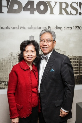 7 Sylvia and Gordon Quan at the UH Downtown 40th anniversary gala January 2015