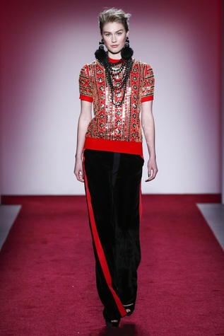 Naeem Khan fall 2017 collection look 31