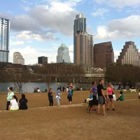 Auditorium Shores in Austin, TX.