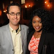 5 Andrew Davis and Valentine Waithera at the CounterCurrent Kickoff Party March 2015