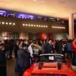 Audi Central Houston grand opening March 2014 interior with crowd