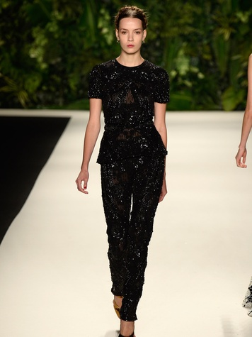 Fashion Week spring summer 2014 Naeem Khan 2