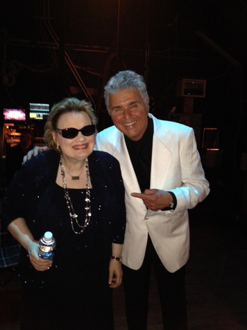 News, Shelby, Steve Tyrell and Diane Schuur in  the dark, March 2014