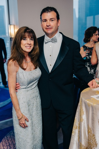 Pamela and Chris Walker at the Circle of Life Gala April 2015