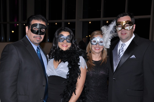 Louis Martinez, Yajaira Castillo, Ana and Chris Klein, Ars Lyrica NYE 2013